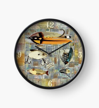 Time To Fish Clock
