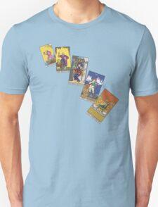 Tarot Cards 0 - 4 T-Shirt