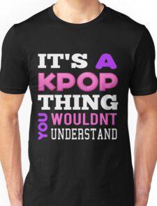 A KPOP THING - BLACK Unisex T-Shirt