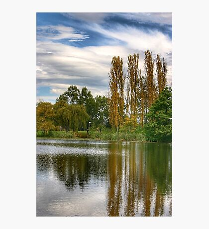 Watery Reflection Photographic Print