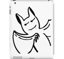 Vampire looks like Dracula iPad Case/Skin