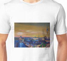 Berlin Germany Skyline at Dusk Unisex T-Shirt