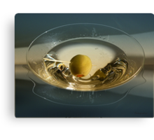 Martini and Olive Canvas Print