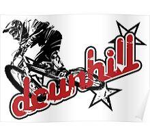 MTB downhill Poster