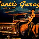 Moonlight Chevy Pickup and Manda from Gantt's Garage Series by ChasSinklier