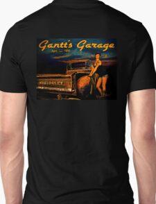 Moonlight Chevy Pickup and Manda from Gantt's Garage Series T-Shirt