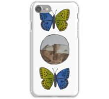 Three Badges Butterfly Logo iPhone Case/Skin