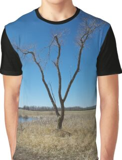 tree in a field  Graphic T-Shirt