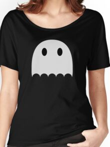 Little white ghost Women's Relaxed Fit T-Shirt
