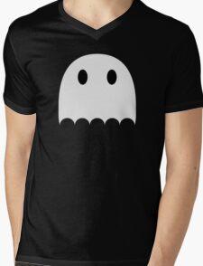 Little white ghost Mens V-Neck T-Shirt