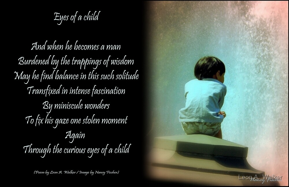 Eyes of a Child by Leon A.  Walker