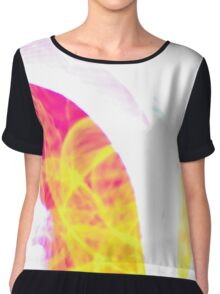 Abstract design Chiffon Top