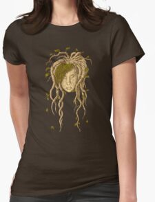 Mother Nature. Womens Fitted T-Shirt