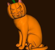 Halloween Cat by Mythos57