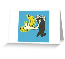 Awesome Banana Greeting Card