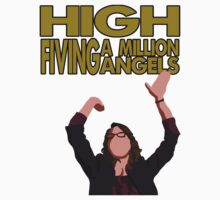 Liz Lemon - High fiving a million angels Kids Clothes