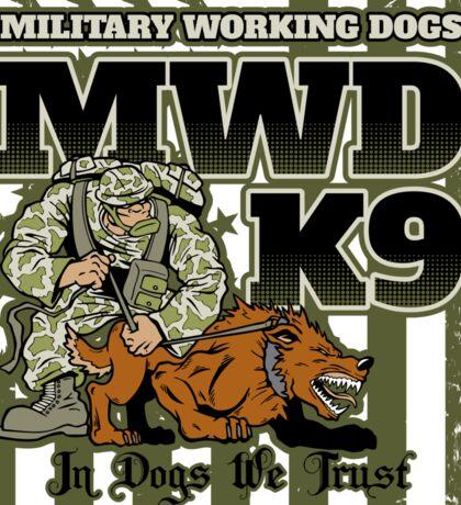 Military Working Dogs K9 Sticker