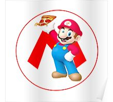 Mario's Pizza Poster