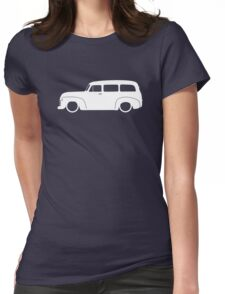 Lowered Classic SUV for Chevrolet Suburban 1947-1955, 4th Gen enthusiasts Womens Fitted T-Shirt