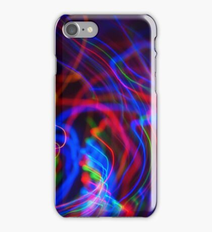 neon led abstract iPhone Case/Skin