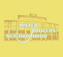 Mister Rodgers' Neighborhood Kids Clothes