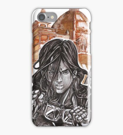 Prisha Dawn #1 Cover - Black & White iPhone Case/Skin