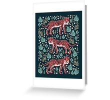 Safari Tiger by Andrea Lauren  Greeting Card