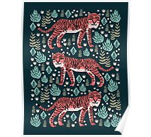 Safari Tiger by Andrea Lauren  Poster