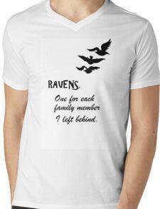 Tris Tattoo Mens V-Neck T-Shirt