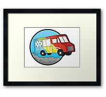 Ice Cream Truck Framed Print