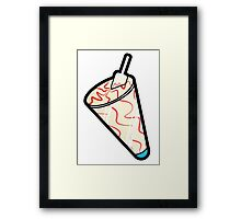 Screwball Framed Print
