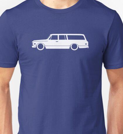 Lowered Classic SUV for Chevrolet Suburban 1967-1972, 7th Gen enthusiasts Unisex T-Shirt