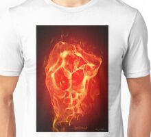 FIRE MAN  Unisex T-Shirt