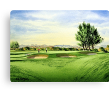 Carnoustie Golf Course Scotland Canvas Print