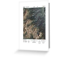 USGS TOPO Map Colorado CO Willow Lakes 20110503 TM Greeting Card