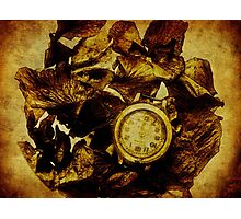 An Old clock Photographic Print