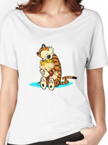 Calvin and Hobbes - Best Friend Women's Relaxed Fit T-Shirt