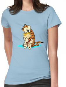Calvin and Hobbes - Best Friend Womens Fitted T-Shirt