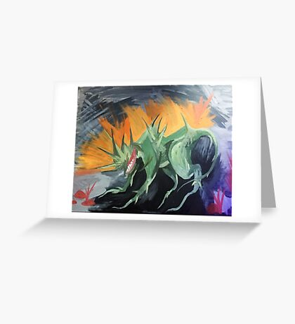 Spike Toad in the Sun Greeting Card