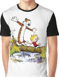 Calvin Hobbes Graphic T-Shirt
