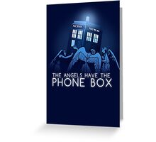 The Angels Have the Phone Box Greeting Card