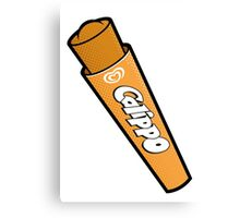 Orange Calippo Canvas Print