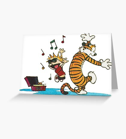 Dancing Together Greeting Card