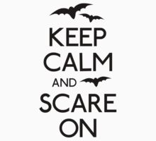 Keep calm and scare on bats Kids Clothes