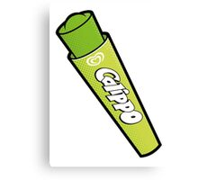 Lime Calippo Canvas Print