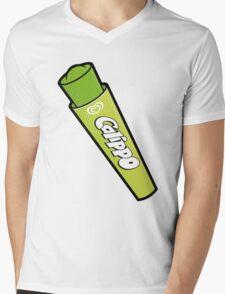 Lime Calippo Mens V-Neck T-Shirt