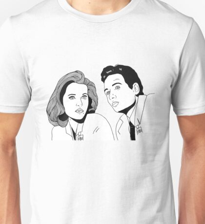 Scully and Mulder Unisex T-Shirt