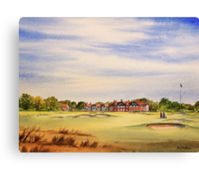 Royal Lytham And St Annes 18Th Hole Canvas Print