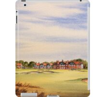 Royal Lytham And St Annes 18Th Hole iPad Case/Skin