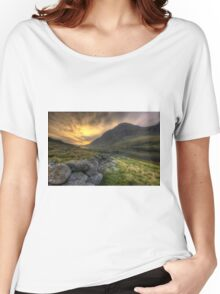 Tryfan By Morning Women's Relaxed Fit T-Shirt